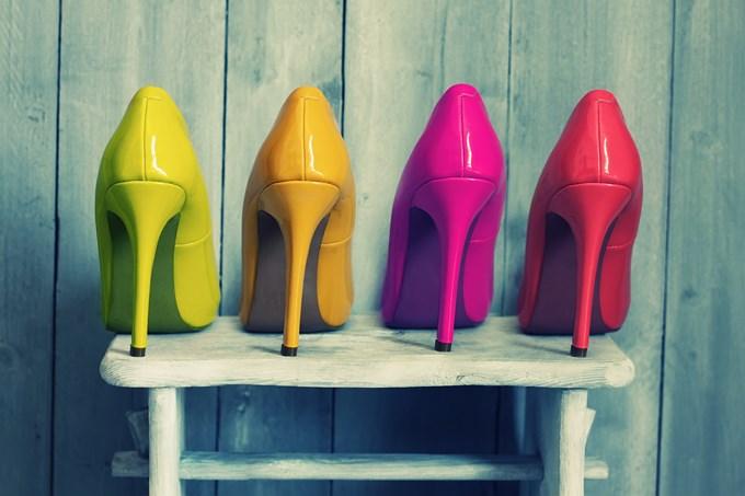 Les chaussures à talons