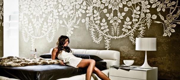 Rénover son salon avec un papier peint design