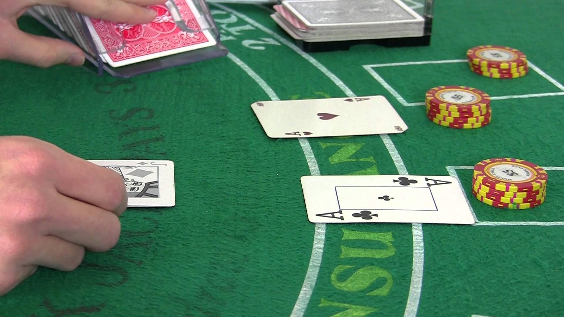 Blackjack jeu a gratter regle