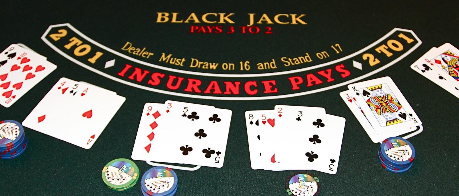 Savoir placer une limite au blackjack