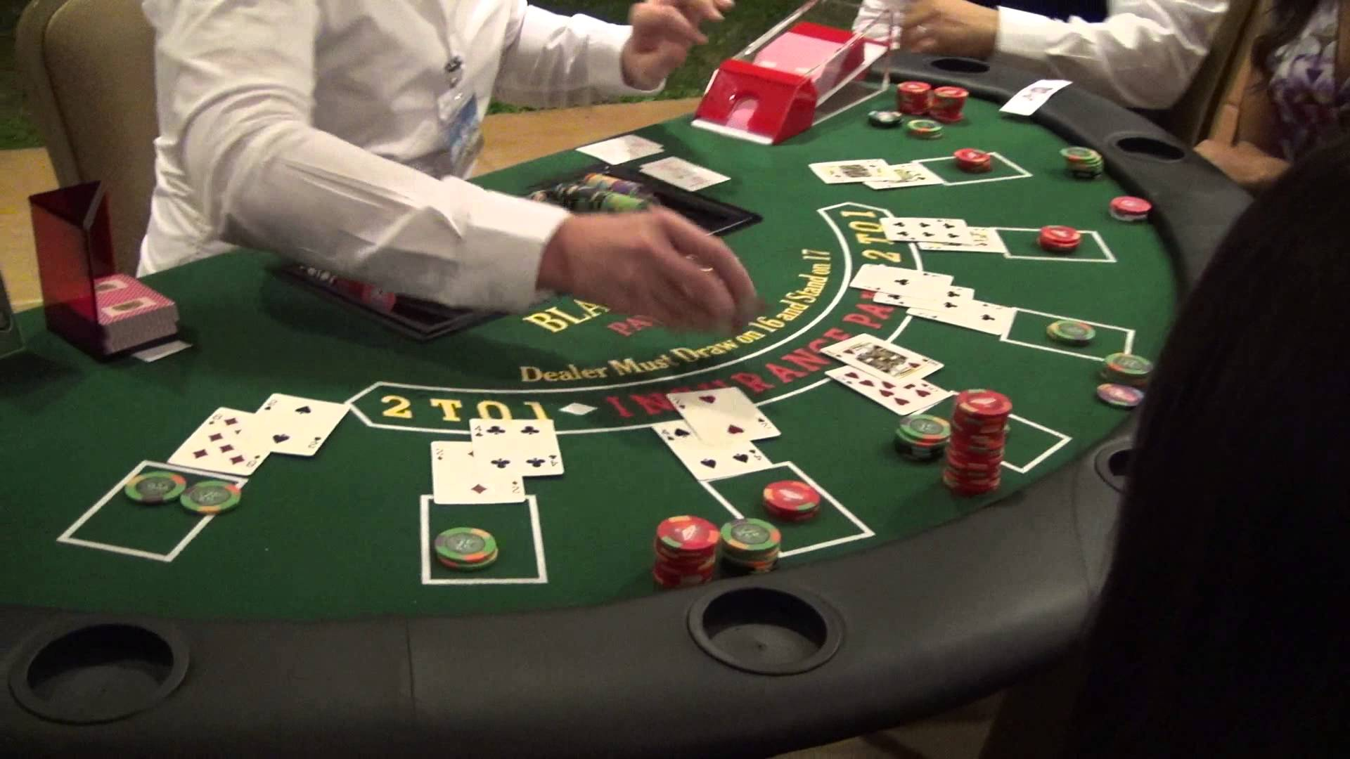 Appréciez la version virtuelle du jeu blackjack